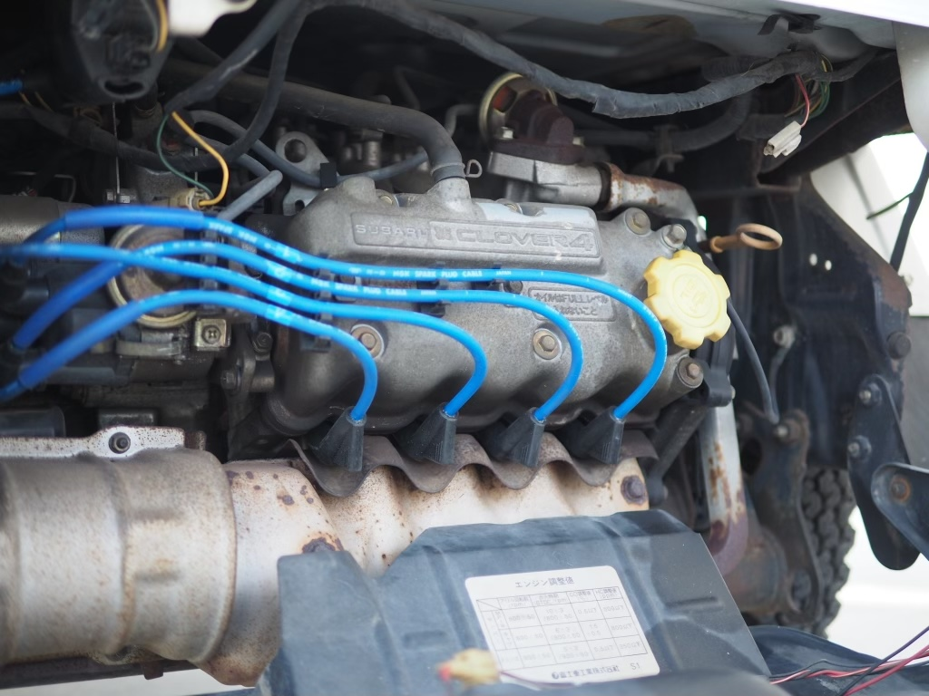 Engine Bay Closeup