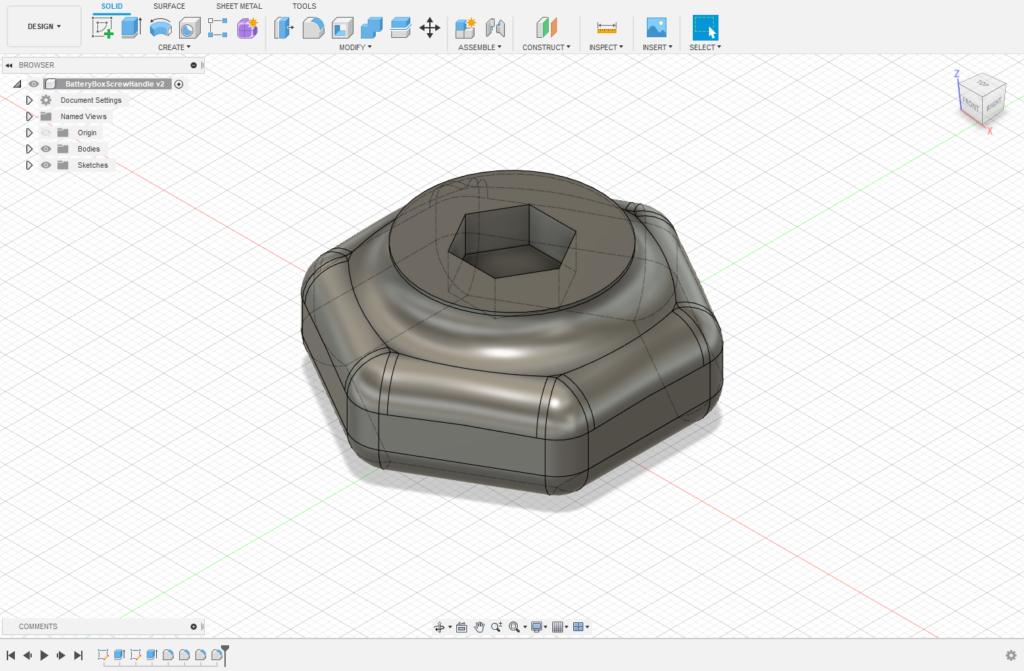 Fusion 360 bolt CAD